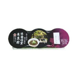 味付もずく 林檎蜂蜜米黒酢(80g×3連パック)