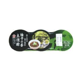 味付もずく 柚子の香土佐酢(80g×3連パック)